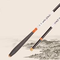 New Carp Fishing Pole Stream Hand Rod Telescopic Fishing Rod Carbon Fishing Tackle 1.8M 2.1M 2.4M 3.0M 3.6M 4.5M 5.4M