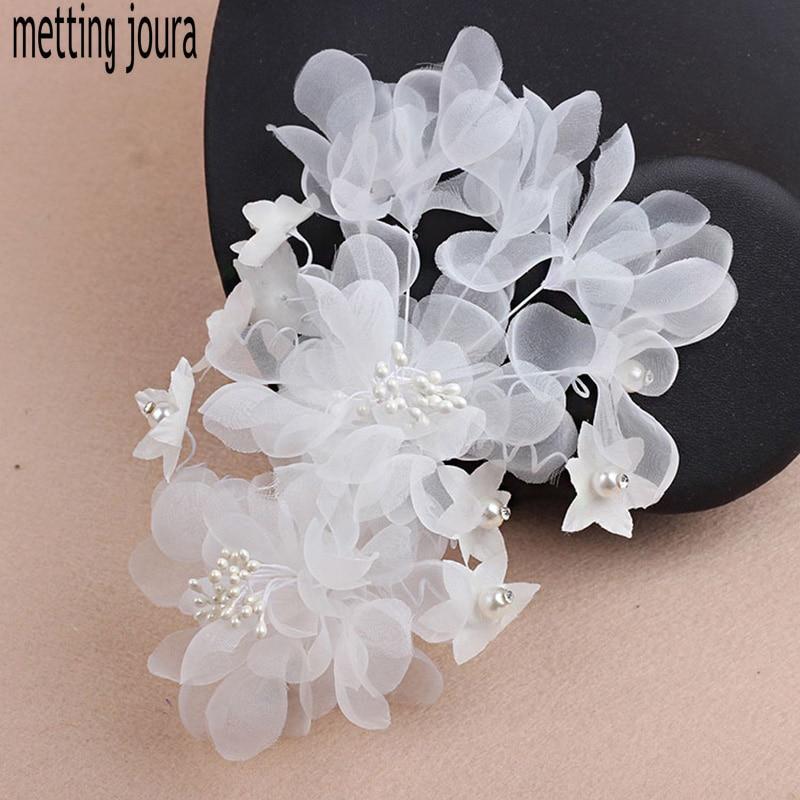 metting joura wedding bridal white