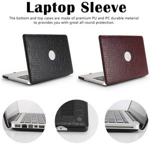 PU Leather Cover Laptop Case f