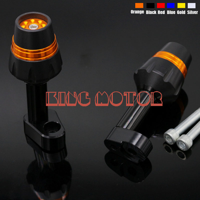Motorcycle Accessories Frame Sliders Crash Protector Falling Protection Orange For YAMAHA YZF R25/R3 YZF-R3 YZF-R25 2014-2016 цена 2017