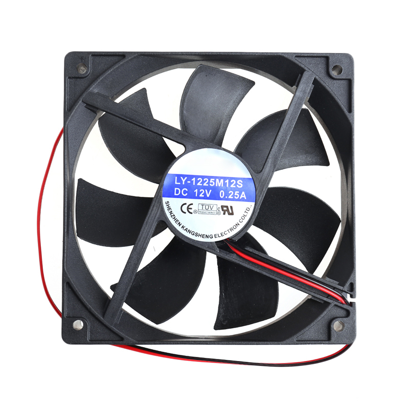 Low Noise High Speed Computer Case System CPU Hydraulic Cooling Fan