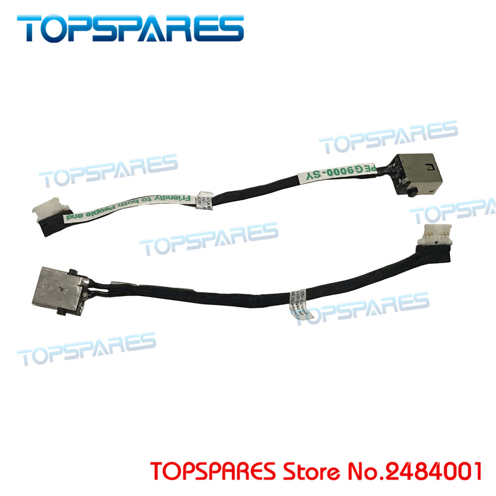 Genuine Laptop DC Jack with Cable fit for ACER R3 131T R3 100 CB3 531 450.06502.0011 DC power