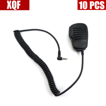 XQF 10PCS Speaker Microphone mic for Yaesu Vertex Radio VX-160 VX-351 VX-3R FT-60R image