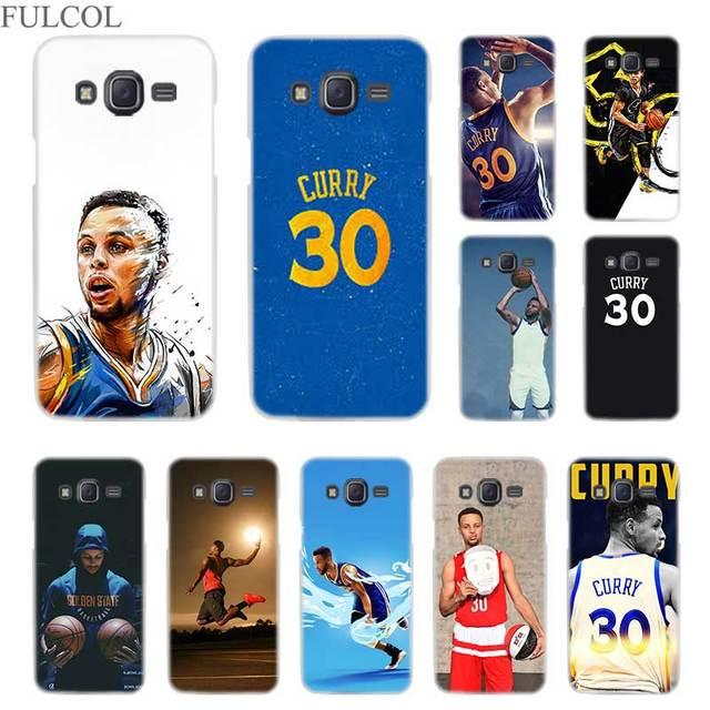 pretty nice c2e88 61e3d FULCOL Stephen Curry Transparent Hard case for Samsung Galaxy J3 J4 J6 J7  J8 2018 2015 2016 2017 EU Prime Max