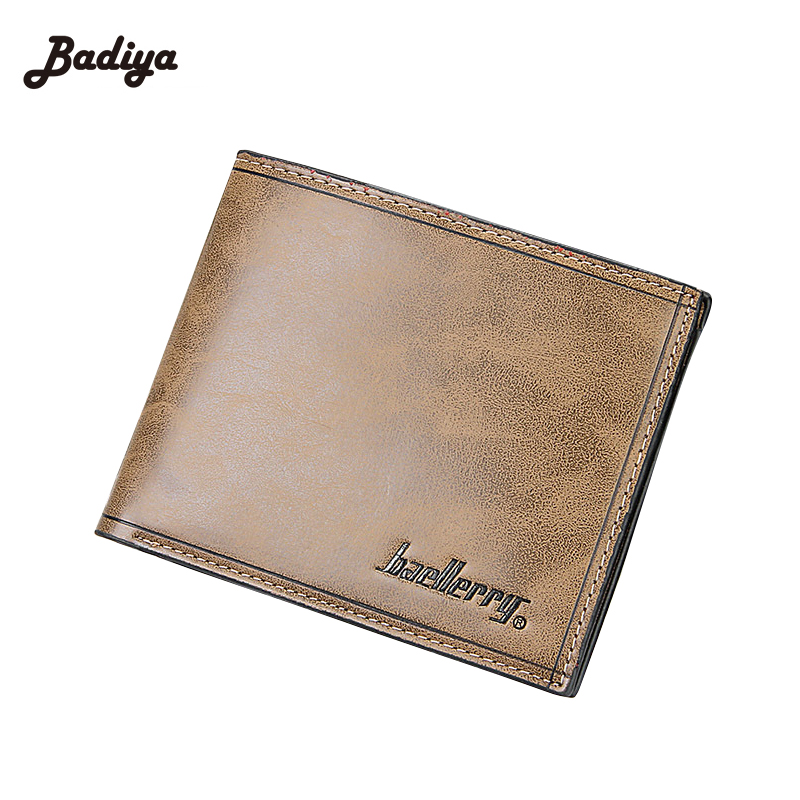New Designer Short font b Purse b font With Card Holder PU Leather Male Money font
