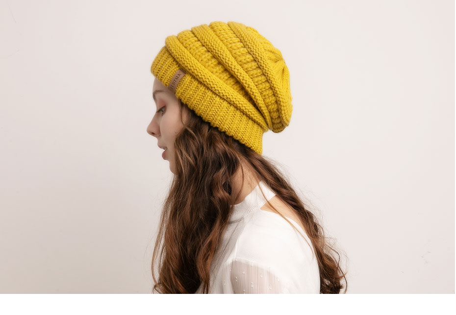 FURTALK Slouchy Beanie Winter Hat for Women Knitted Warm Fleece Lining Hat for Female Skullies Beanies Red Yellow Black Grey Cap 36