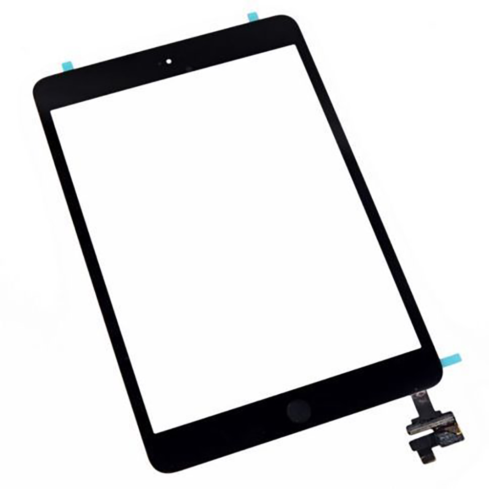 Touch Screen Kit Digitizer Adhesive Sensor Parts IC Panel Repair Tool Lens Replacement Home Button Front Glass For IPad Mini 1 2(China)