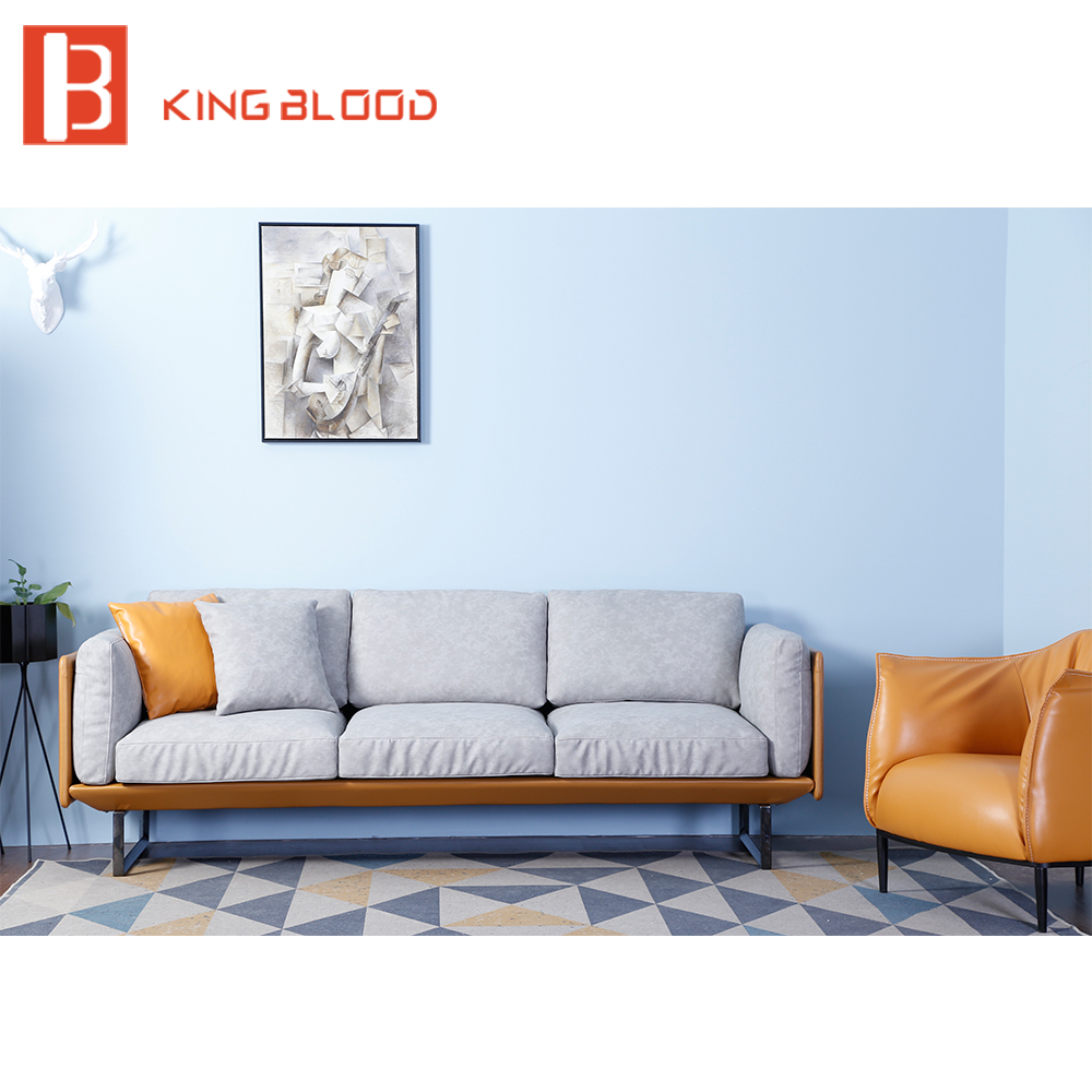 Living Room Suites For Sale: Luxury Modern Hotel Lobby Italy Nappa Leather Sofa Set