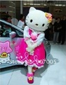 MC02 M EMS & Super Deal lovely Cartoon Mascot Costume Include Hello Kitty Fancy Dress + Mini Cool Fan for FREE! Promotion WOW!!!