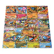 18 Pcs Collection Cards Cute EX Card Set MEGA Poke Card Toys English Version Girl Boy Yu Gi Oh Game Christmas Gift Brinquedo