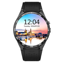 KW88 3G Wi-Fi gps Bluetooth Smart Часы Android 5,1 MTK6580 1,39 дюймов 2.0MP Камера Smartwatch для Iphone huawei Смартфон Xiaomi(China)