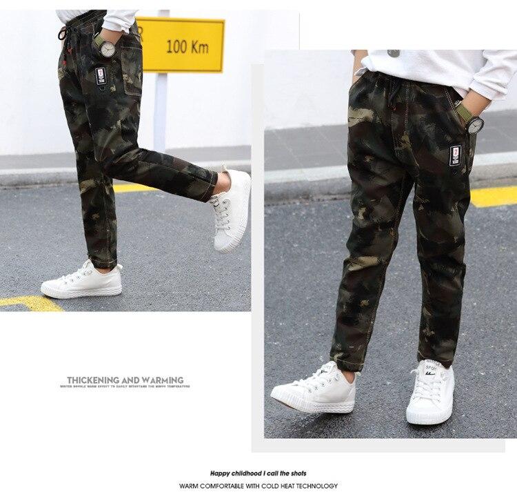 HTB1jZ2Ea.vrK1RjSspcq6zzSXXa8 - Children Jeans Pants 2019 Spring Autumn Korean Version Kids Casual Camouflage Trousers For Boys 4 6 8 10 12 Years Pants DWQ025