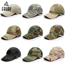 Military Hats Camouflage Tactical Hat Patch Army Baseball Cap Unisex ACU CP Desert Camo For Men