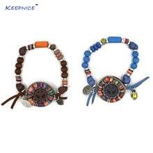 Браслеты ручной работы в богемском стиле с подвесками и кисточками
