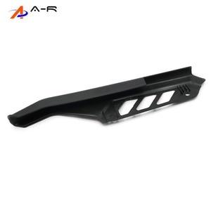 Image 4 - Guardabarros de cadena de ABS para motocicleta, cubierta protectora lateral, Protector para Suzuki DR125, DR200, DR650, DR 125, 200, 650, 04 17