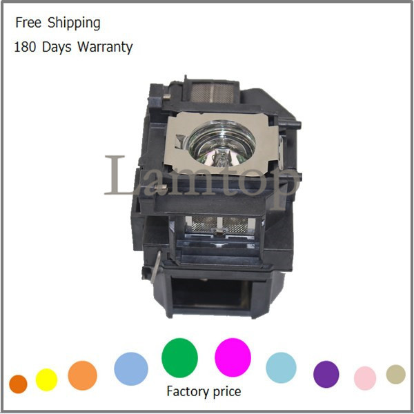 Подробнее о 180days warranty  projector bulb with housing/case  ELPLP67  V13H010L67   fit for   EB-S11 EB-SXW11   EB-X11   Free shipping replacement projector bulb elplp67 fit for eb s11 eb sxw11 eb x11 free shipping
