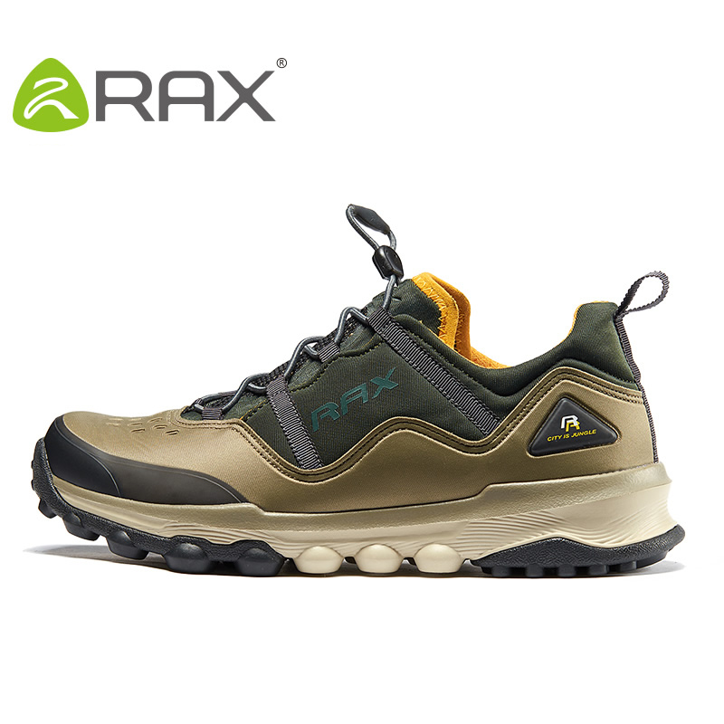 RAX Men Hiking Shoes Lightweight Trekking Shoes Outdoor Breathable Walking Shoes Sport Sneakers Men Climbing Mountain Shoes humtto new hiking shoes men outdoor mountain climbing trekking shoes fur strong grip rubber sole male sneakers plus size
