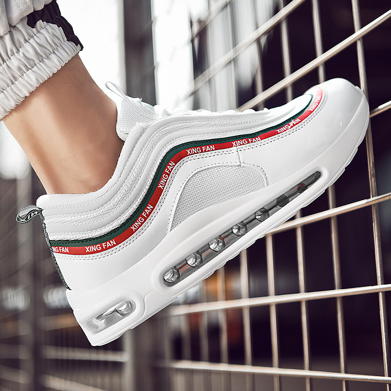 Adulte Hommes blanc D'air Coussin Respirant Professionnel Mode De Pour Casual Sport Sneakers Chaussures Krasovki Noir Homme RBwqZE7