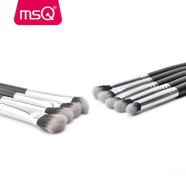 MSQ Professional 20Pcs/Sets Eye Shadow Foundation Eyebrow Lip Brush Makeup Brushes Cosmetic Tool Make Up Eye Brushes Set 4