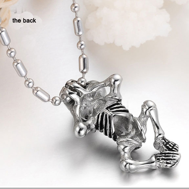 Child Skull Chain Pendant