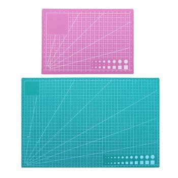 A3 A5 tabla de corte de PVC DIY artesanía estera de retazos alfombrilla autosanadora de papel de cuero herramienta de corte para escritorio protector