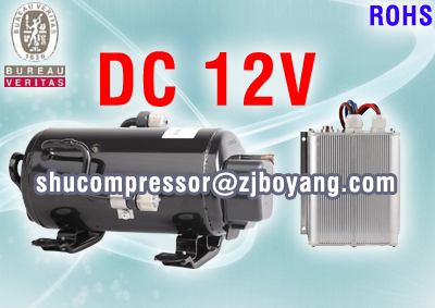 12Volt electric EV Vehicle compressor for auto ac truck sleeper Mass Transit Military Marine Electronics auto ac compressor used for volvo truck fh10 12 16 volvo fh12 16 95 8044 8176