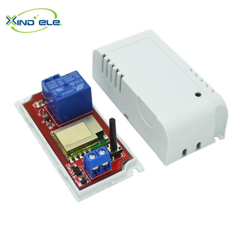 nueva caliente dc 12 v interruptor de control remoto wifi smartphone controlado