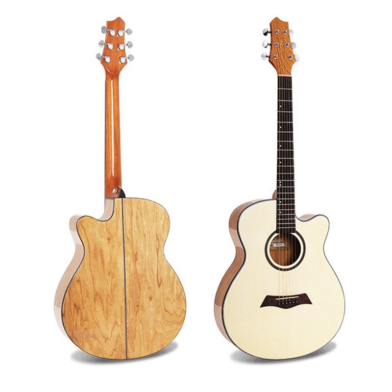 Guitare acoustique à cordes d'acier