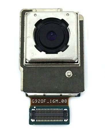 For <font><b>Samsung</b></font> Galaxy <font><b>S6</b></font> SM-G920F Back Rear <font><b>Camera</b></font> <font><b>Module</b></font> Replacement OEM 10pcs/lot image