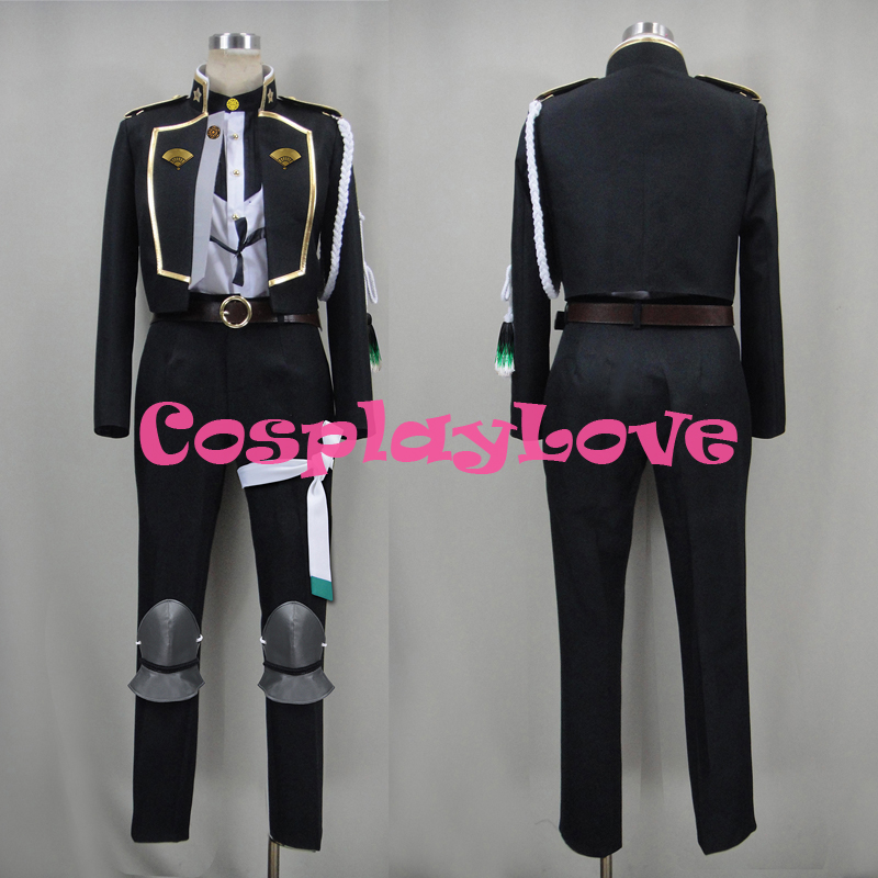 Custom Made Japanese Game Touken Ranbu Online Hizamaru Cosplay Costume Christmas Halloween High Quality Halloween