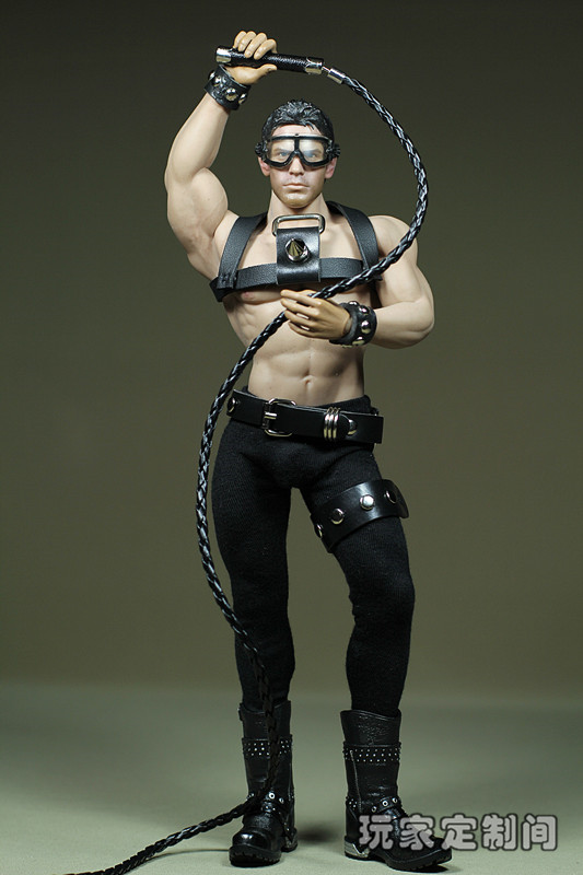 1/6 scale figure doll clothes Accessory with Whip fit Phicen male Seamless body doll ,Not included body;head;shoes;weapon 3694 marc aurel ваза для фруктов хрустальная красные розы