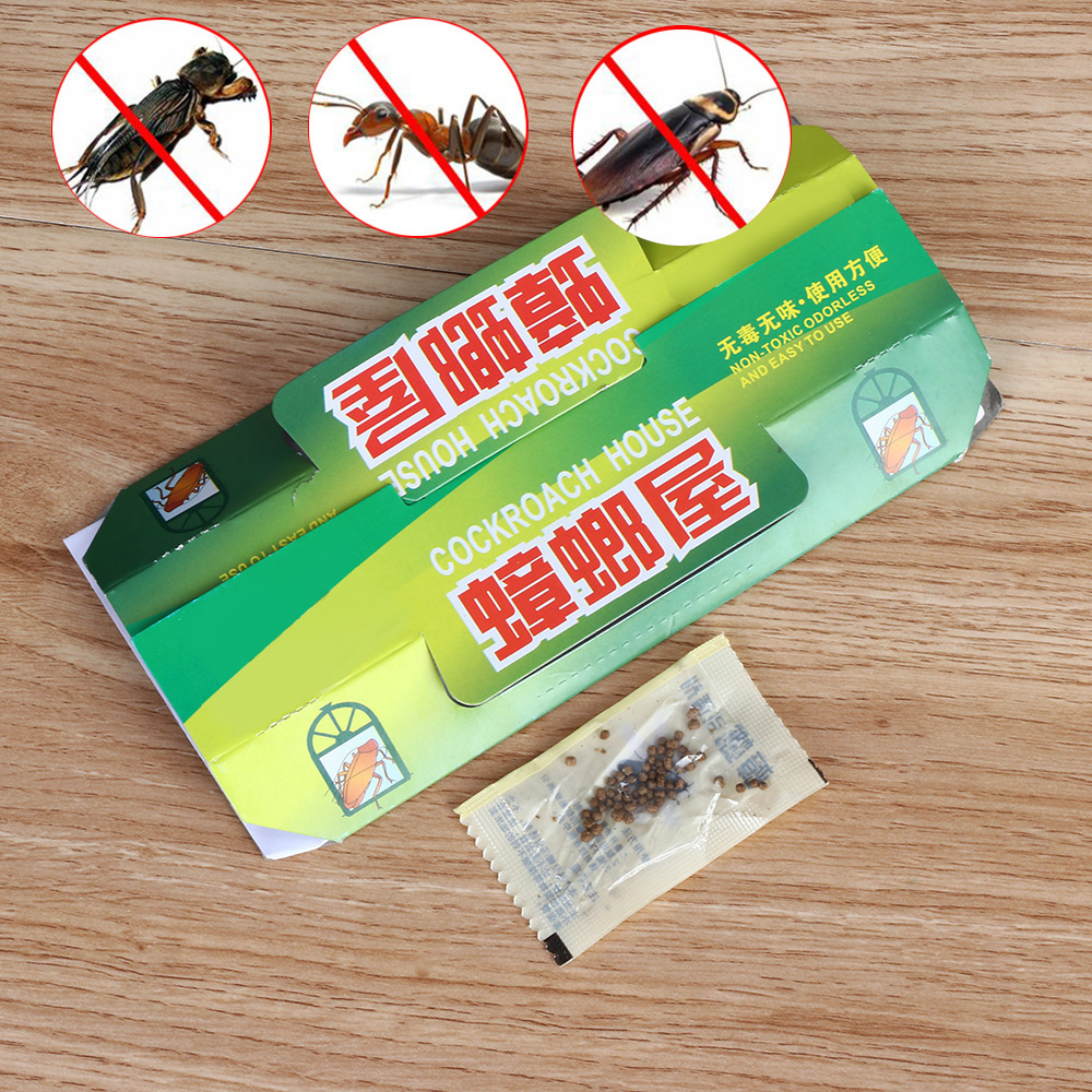 1 Pcs Useful Non Toxic Killing Cockroach House Glue Sticky Bait Capture Device Catcher Traps Pest Repellent Insect Repeller