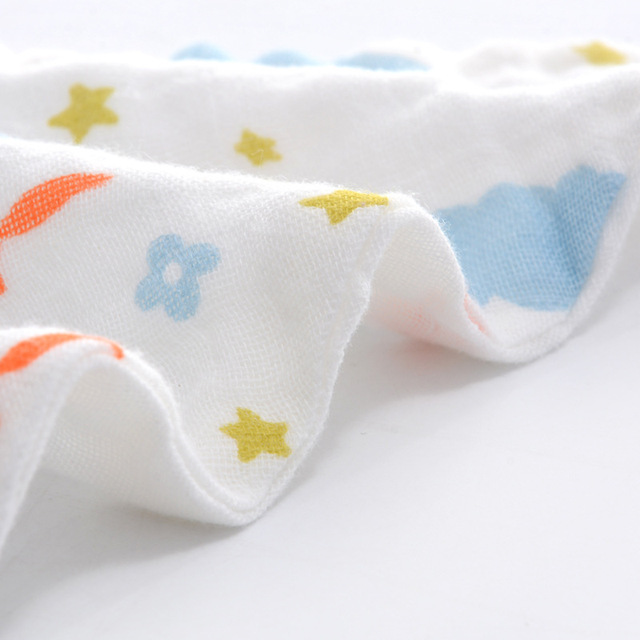 Triangle Cotton Baby Scarf
