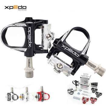Xpedo THRUST 7 (XRF07MC) Road Bike Sealed Ultralight Pedals Look Keo Compatible Cleats Self Locking Pedal 235g Magnesium Alloy