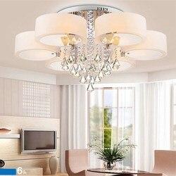 Nowoczesna minimalistyczna lampa sufitowa LED ciepła sypialnia lampa kryształowa lampa salon restauracja ogrodowa lampa akrylowa ZP5151028