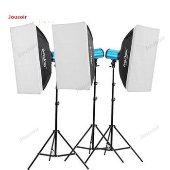Godox Photographic lamp set GS250 250W Studio Flash clothing portrait ID Still life Studio kit equipment CD50 T03