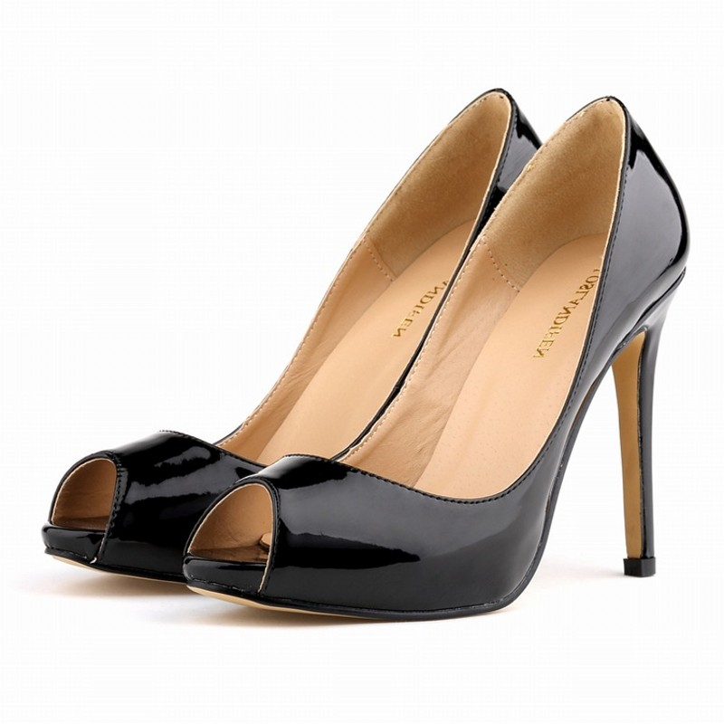New spring summer women peep toe high heels shoes woman fashion sexy slip on lady pumps wedding party shoes size 35-42 leather sexy pointed toe high heels women pumps shoes new spring brand design ladies wedding shoes summer dress pumps size 35 42 302 1pa