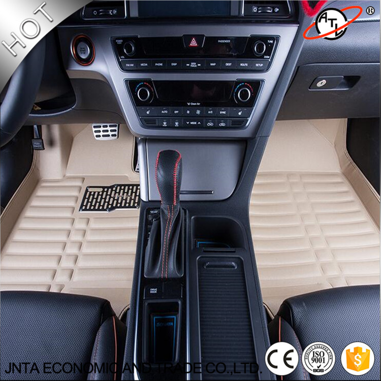 car accessories interior leather floor mat 3d car floor mats custom fit front rear full set. Black Bedroom Furniture Sets. Home Design Ideas