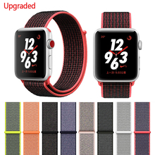 Watches - Watches Accessories - Latest Upgrade Woven Nylon Watchband Straps For IWatch Apple Watch Sport Loop Bracelet & Fabric Band 38mm 42mm Series 1 2 3