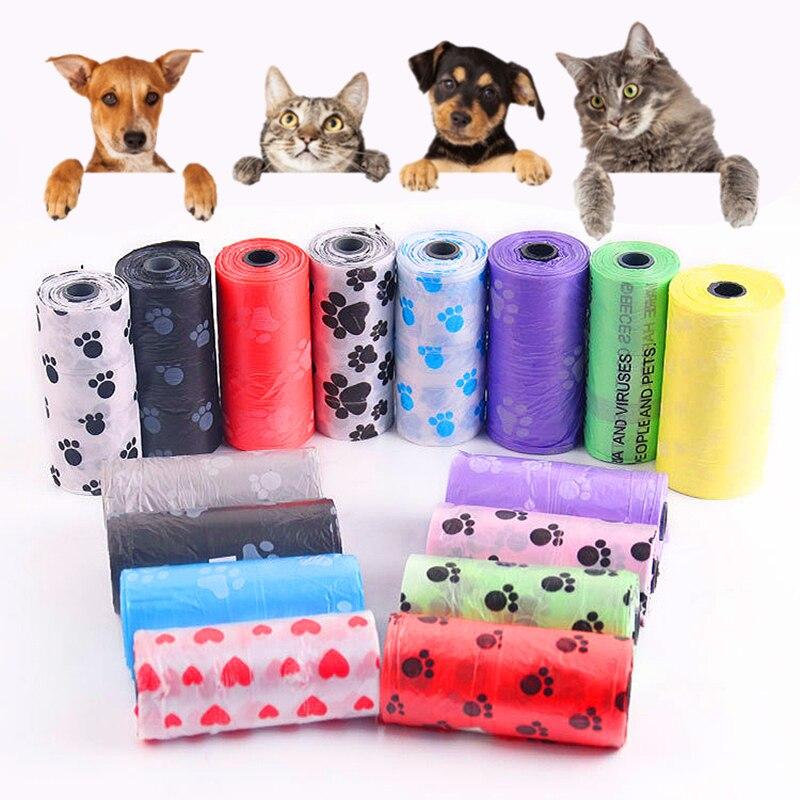 Hund Poop Tasche für Hund Haustiere Abfall Müll Taschen Träger Biologisch Abbaubar Clean-up BagWaste Pick Up Sauber Tasche für hund Pet Produkte