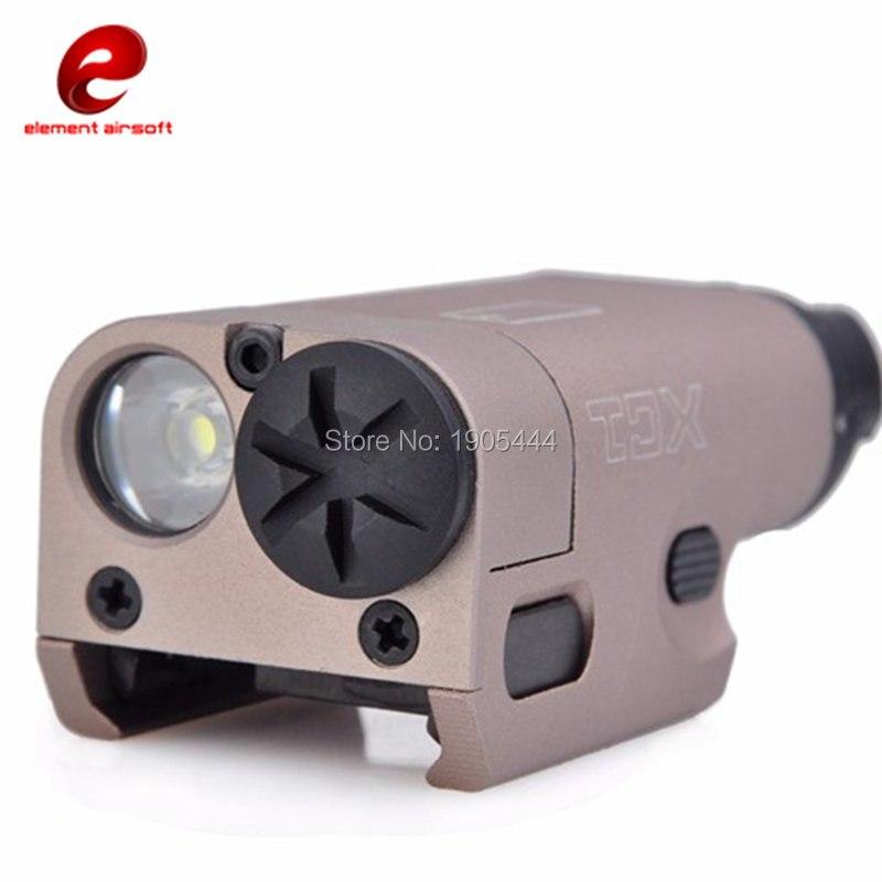 Élément tactique lampe de poche pistolet arme lumière XC1 Surefir Arma Wapens Glock pistolet lampe Softair Airsoft gaufen Waffe lampe de poche