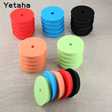 Yetaha 5Pcs 6inch 150mm Car Polishing Buffing Sponge Pads Set Car Wash For Car Polisher Cleaning Detailing Polishing Tool