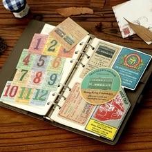 1pack/lot Japan ZAKKA Travel Diary DIY Multifunction seal paper sticker pack Gif