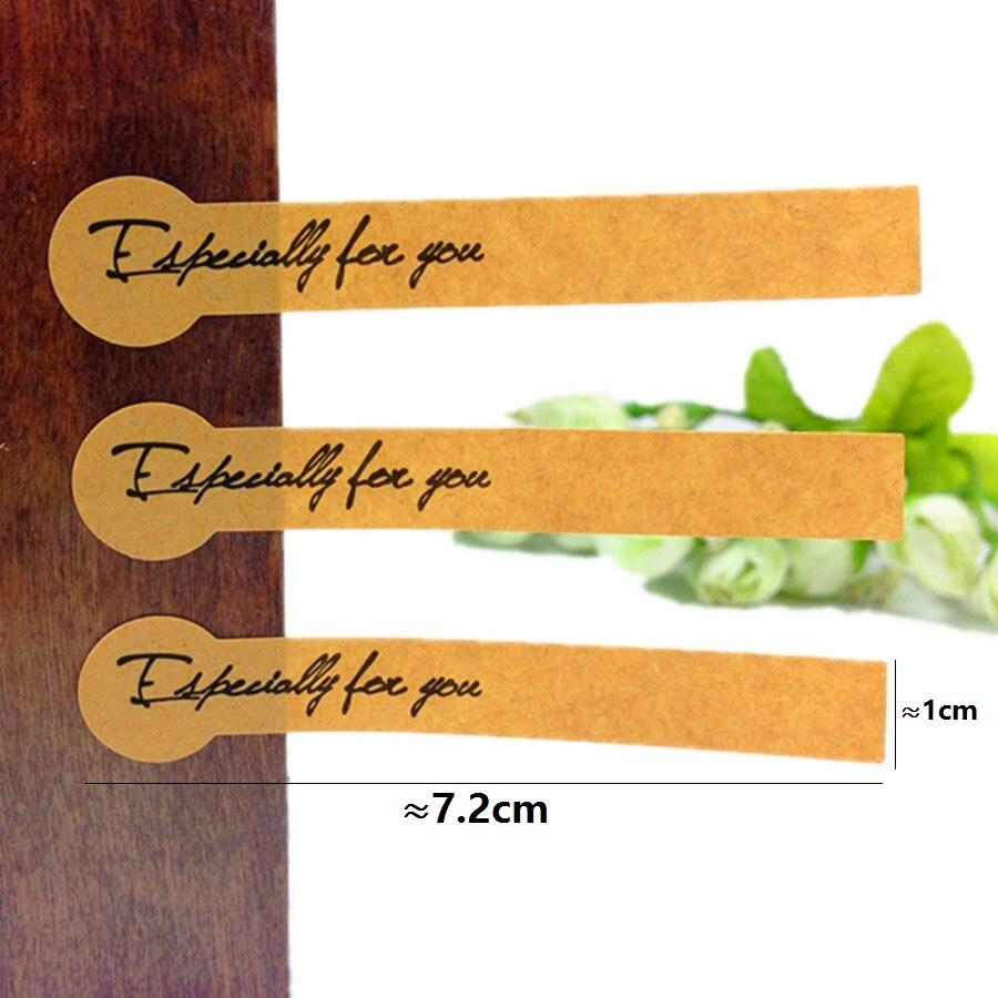 selo longo etiqueta para embalagem de presente,