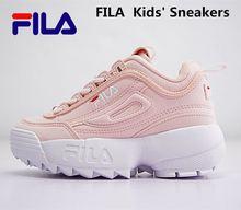 bbbd4b5b0 FILAS Disruptor II 2 Generación Gran Diente niños zapatillas de deporte  Zapatos tamaño 28-35