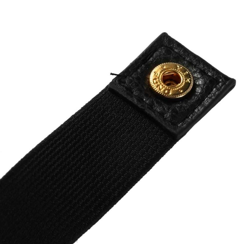 Women Female Fashion Well matched Elastic Metal Waist Slimming Belt Metallic Solid Bling Gold Plate Slim Simple Band Body Shaper in Slimming Product from Beauty Health