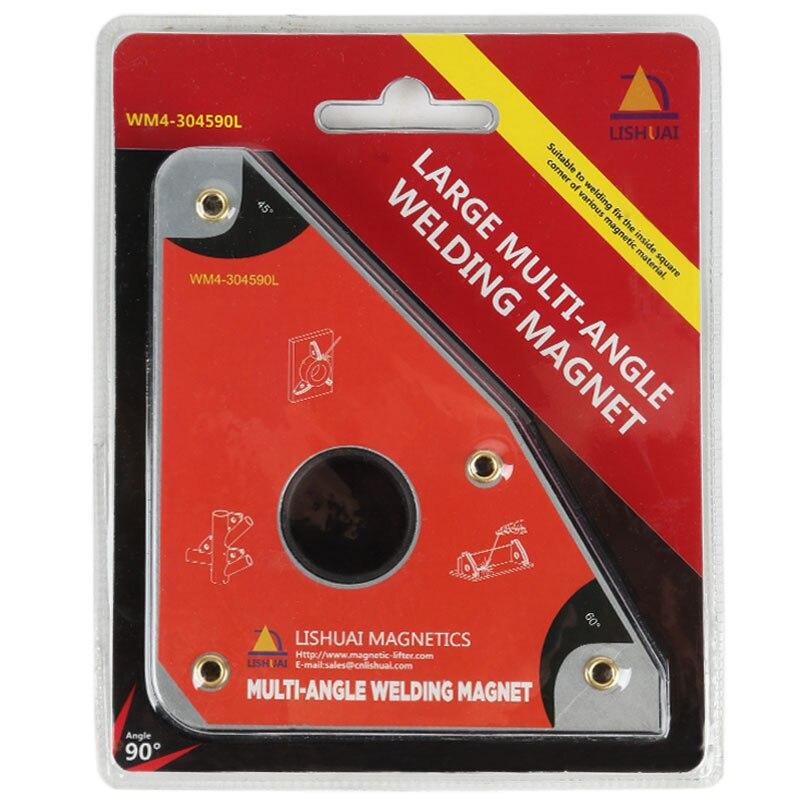 Multi-angle Forza Forte 55kgf Saldatura Al Neodimio Magneti/Morsetto Magnetico NdFeB Magnete Industriale di Grandi Dimensioni