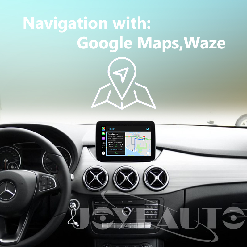 US $373 15 15% OFF|Joyeauto Aftermarket Wireless OEM Apple CarPlay Retrofit  for Mercedes B Class W246 2014 17 NTG5 Car Play with Rear View Camera-in