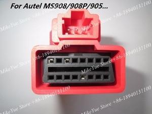Image 2 - محول موصل DLC لـ Autel ، لـ HONDA  3 Pins MaxiSys Pro MS906 MS906BT MS906TS MS908S Pro Mini MaxiCOM MK908P ، OBD I