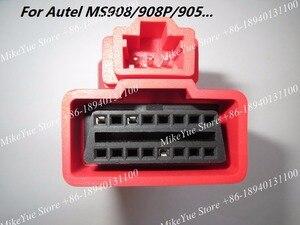 Image 2 - Dla Autel dla HONDA 3 szpilki MaxiSys Pro MS906 MS906BT MS906TS MS908S Pro Mini MaxiCOM MK908P OBD I adaptery DLC złącze